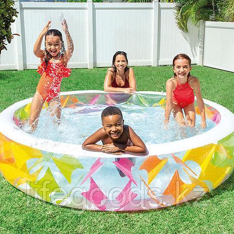 Семейный надувной бассейн Pinwheel 229х56 см, Intex 56494, фото 2