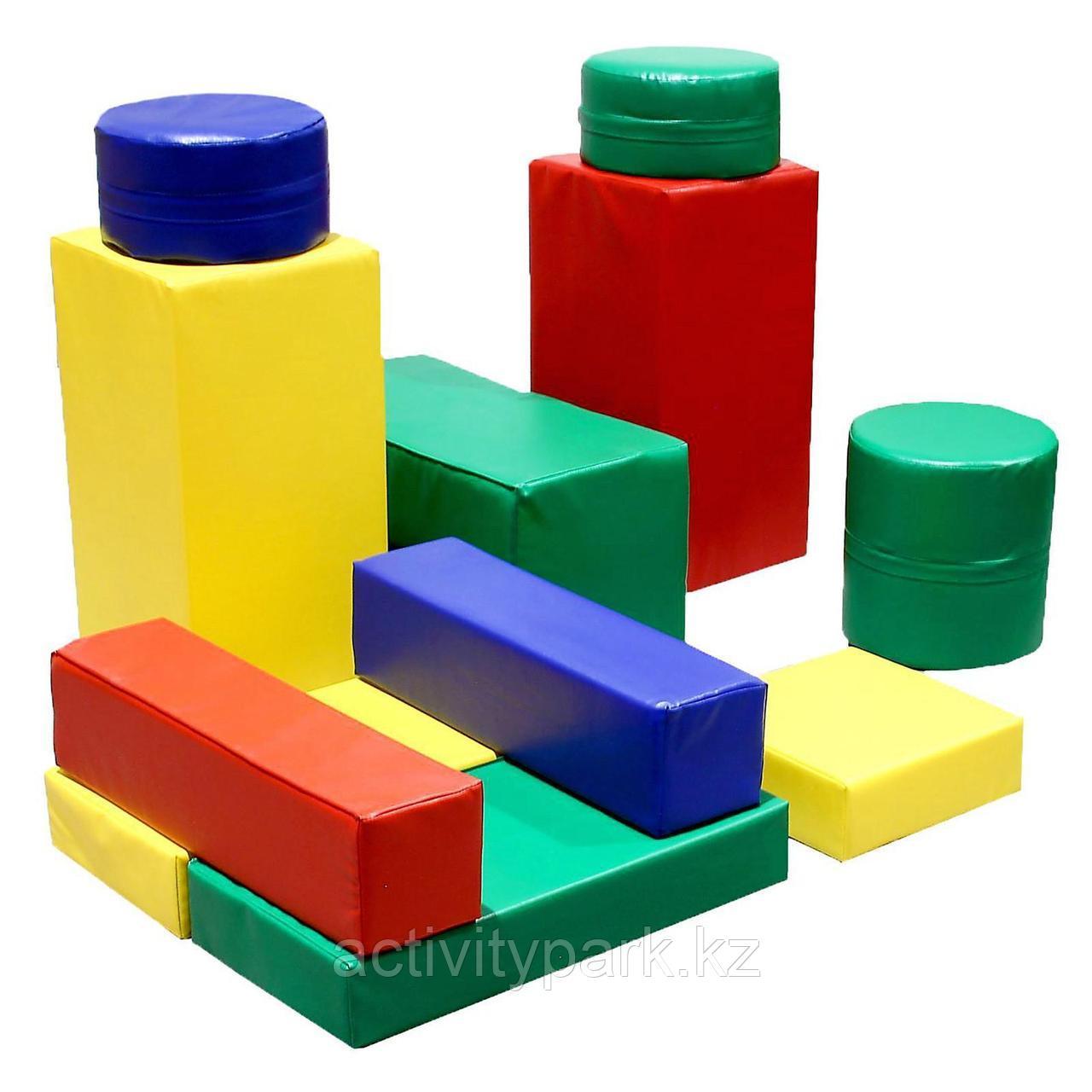 Мягкий конструктор 11 элементов
