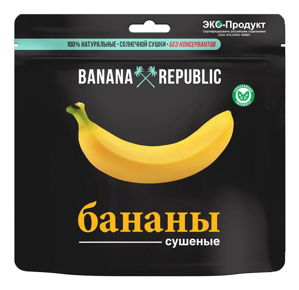 Банан сушеный  Banana Republic 200гр Дой-пак (10шт - упак)