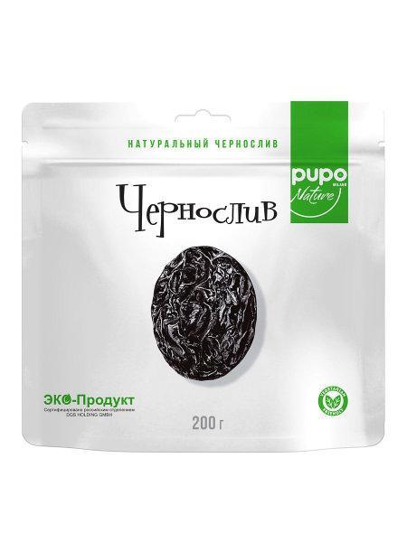 """Фрукты сушенные PUPO """"Чернослив"""" 200гр Дой-пак (10шт - упак)"""