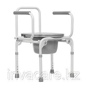 """Кресло-стул инвалидное с санитарным оснащением """"Ortonica"""" TU 3  (с откидными подлокотниками)"""