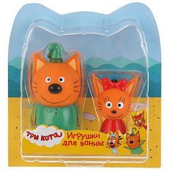 """Капитошка Игрушки для ванны """"Три кота: Карамелька и Компот"""""""