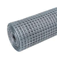 Сетка штукатурная армирующая оцинкованная 50x20x0,9 раскрой 1,25 м х 16 м