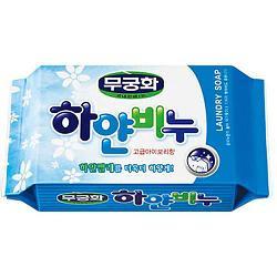 Мыло хозяйственное wihite soap белое 230г.