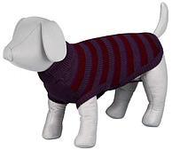 Пуловер Trixie Brantfort для мелких пород собак (Фиолетово-бордовый) - XS21 см