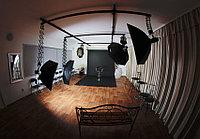Подвесная потолочная система для фотостудий  на четыре пантогрофа