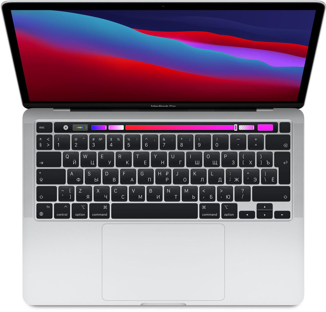 "Apple MacBook Pro 13"" (Custom M1, 2020) 16 ГБ, 256 ГБ SSD, Touch Bar, серебристый"