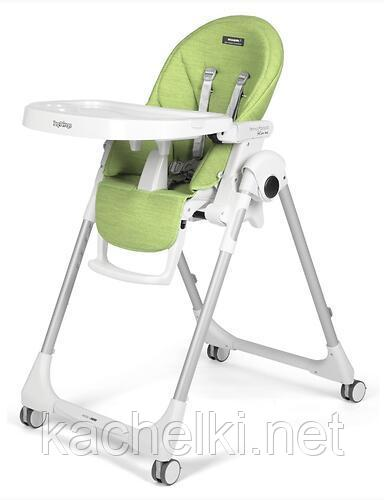 Стульчик Peg-Perego Prima Pappa Follow me Green
