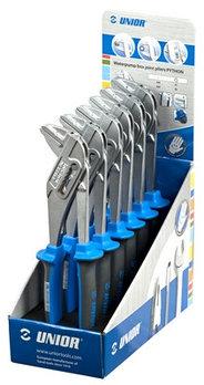 Набор клещей переставных с коробчатым шарниром в стойке рекламной - 449/1BIST UNIOR