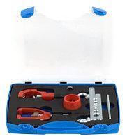 Набор для резки и развальцовки трубок в пластиковом кейсе - 370 UNIOR