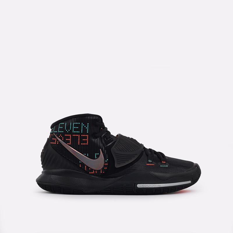 Оригинальные кроссовки Nike Kyrie 6 Triple Black