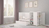 Кровать-трансформер French 800, Amis, белый (Polini kids, Россия)