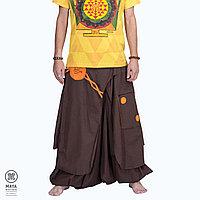 Этнические штаны Алладины Trance из плотного хлопка