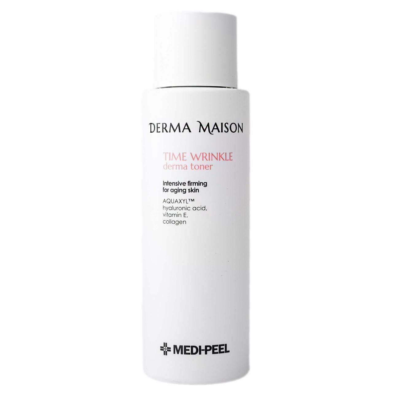 Medi Peel Антивозрастной тонер с коллагеном Derma Maison Time Wrinkle Toner 250мл.