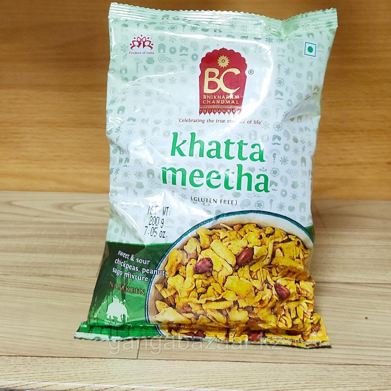 Намкин  снэки Khatta Meetha Namkeen, 200 гр