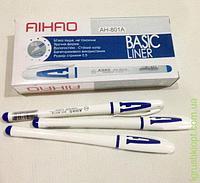 Ручка гелиевая синяя