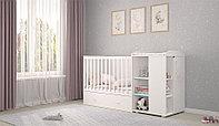 Кровать-трансформер French 800, Teddy, белая (Polini kids, Россия)
