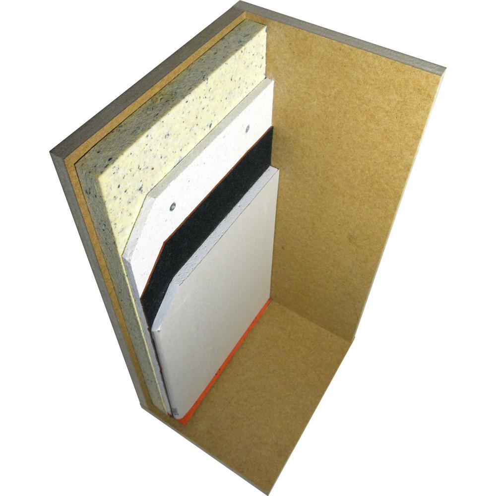 Бескаркасная звукоизоляция стен БК-Стандарт - фото 1