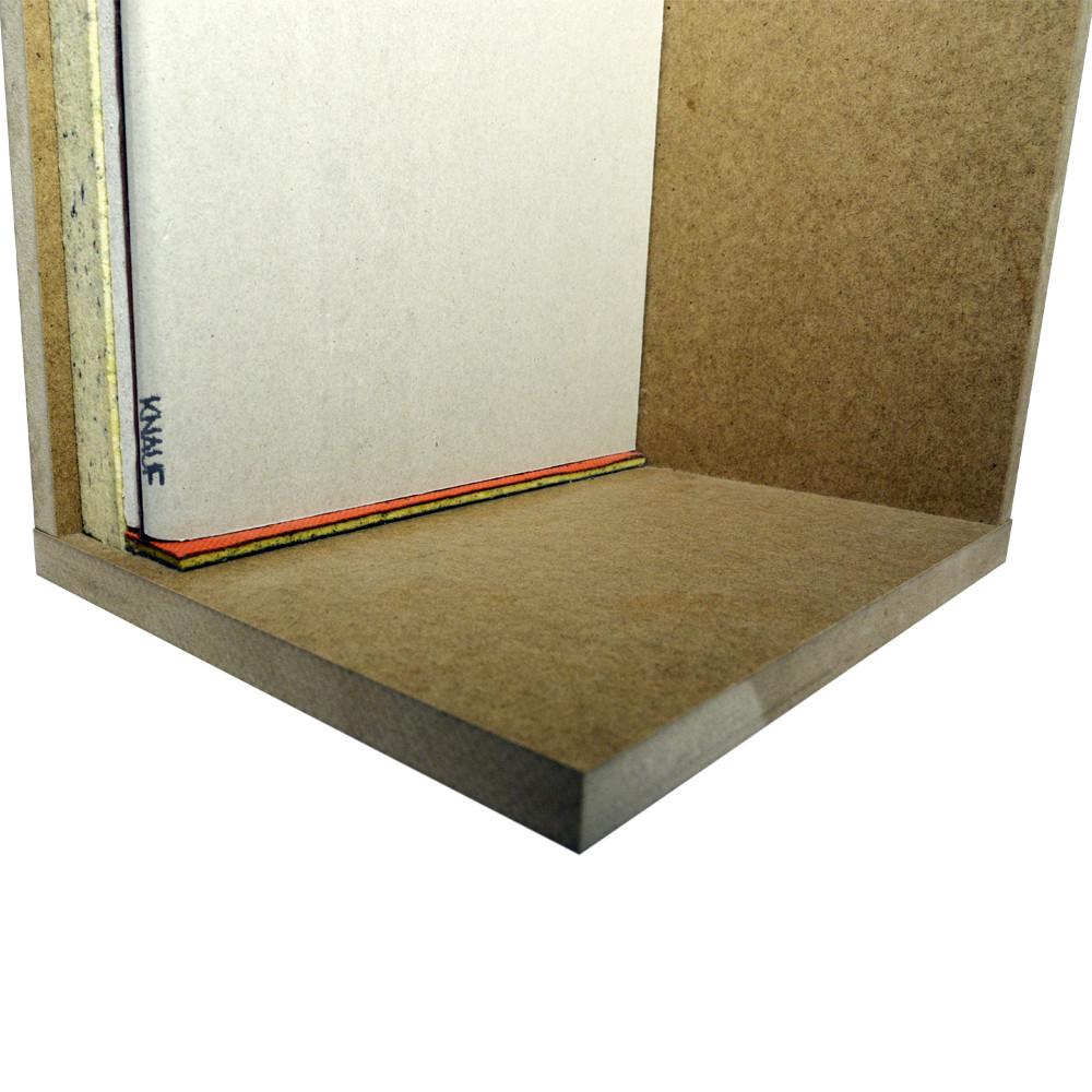 Бескаркасная звукоизоляция стен БК-Стандарт - фото 4