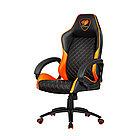 Игровое компьютерное кресло, Cougar, FUSION (ORANGE), Искусственная кожа PU AIR, (Ш)53*(Г)54*(В)116
