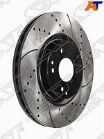 Комплект перфорированных дисков перед MERCEDES C180 W203 /C209 00-06