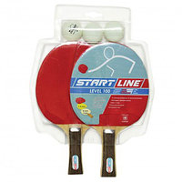 Набор: 2 Ракетки Level 100, 3 Мяча Club Select, упаковано в блистер