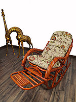 Кресло качалка из ротанги (плетен.)