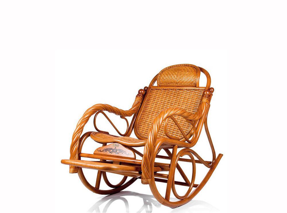 Кресло качалка из ротанги (плетен.) - фото 2