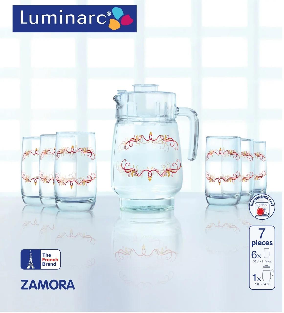Графин со стаканами Luminarc Zamora (7 предметов)