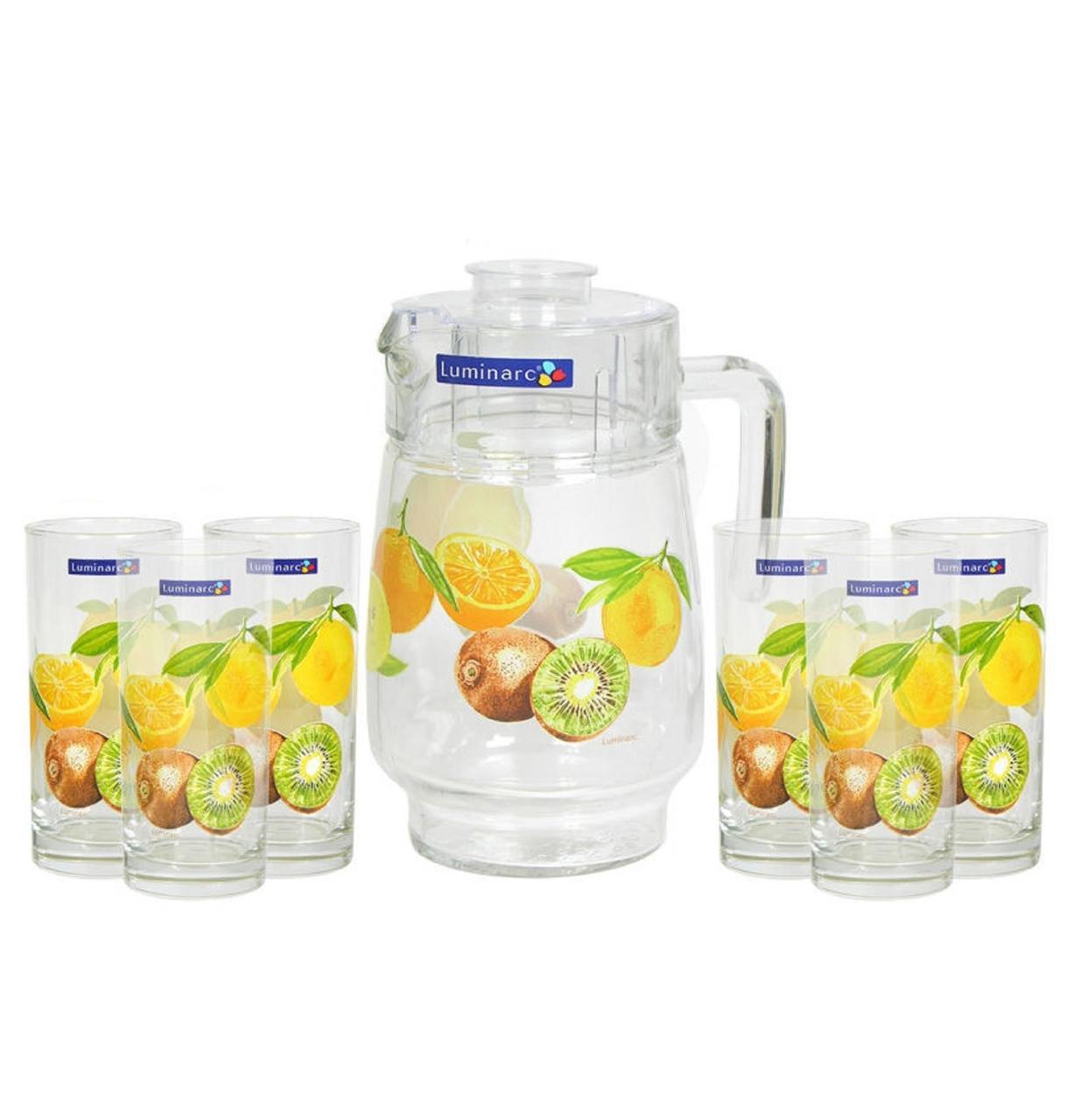 Графин со стаканами Luminarc Vitamine (7 предметов)