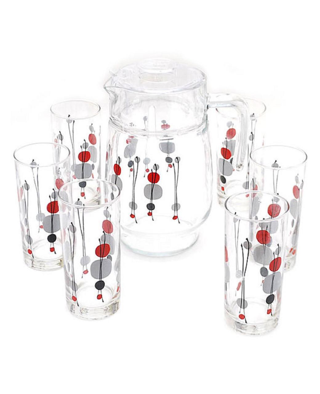 Графин со стаканами Luminarc Kyoko White (7 предметов)