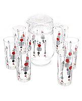 Графин со стаканами Luminarc Kyoko White (7 предметов), фото 1
