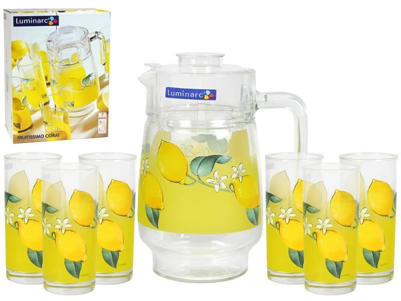 Графин со стаканами Luminarc Fruitissimo Cidrat (7 предметов)