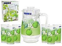 Графин со стаканами Luminarc Fruitissimo Apple (7 предметов), фото 1