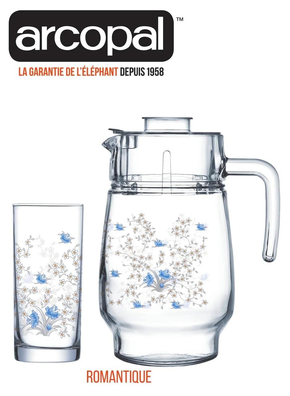 Графин со стаканами Arcopal Romantique (7 предметов)