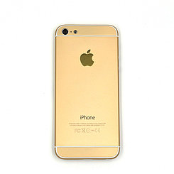 Корпус Apple iPhone 5G дизаин iPhone 6 Gold (66)