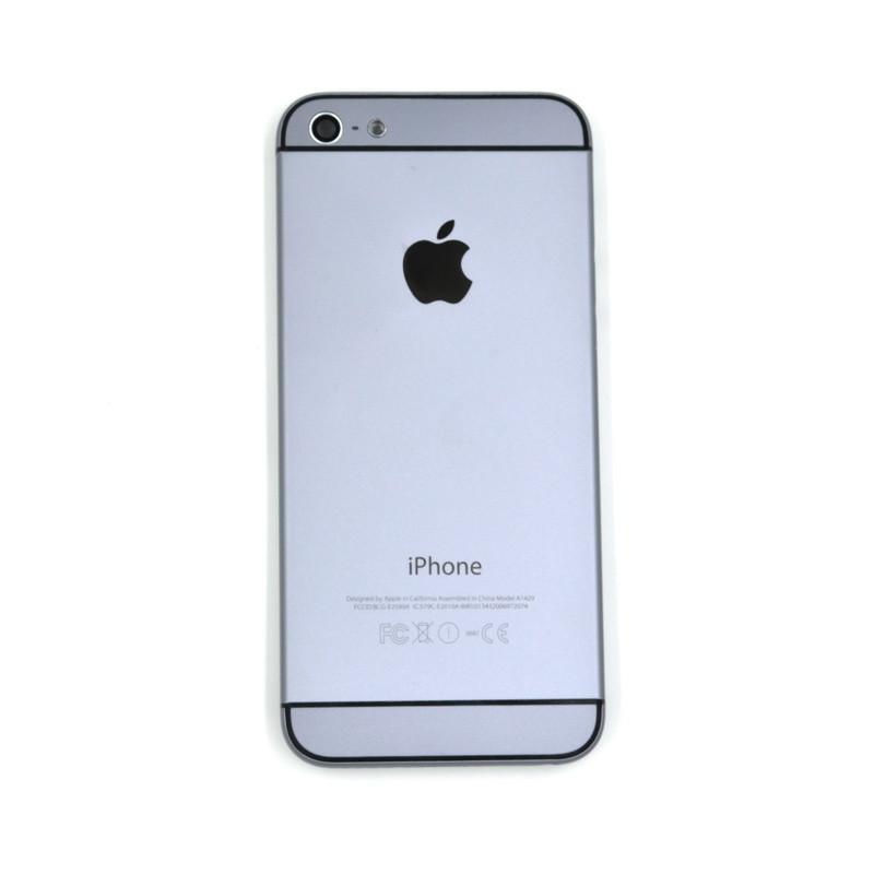 Корпус Apple iPhone 5S дизаин iPhone 6 Gray (66)