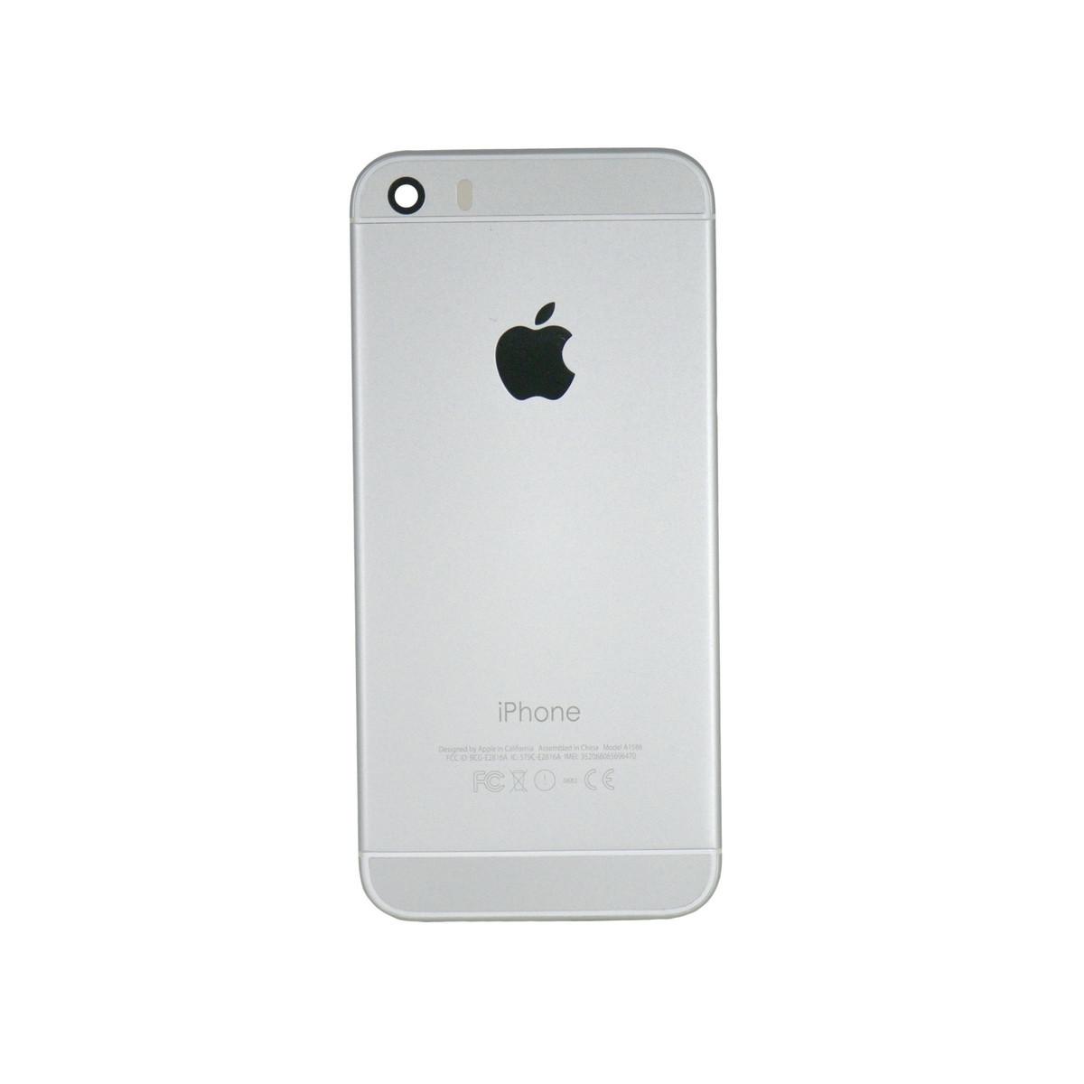 Корпус Apple iPhone 5S дизаин iPhone 6 Silver (66)