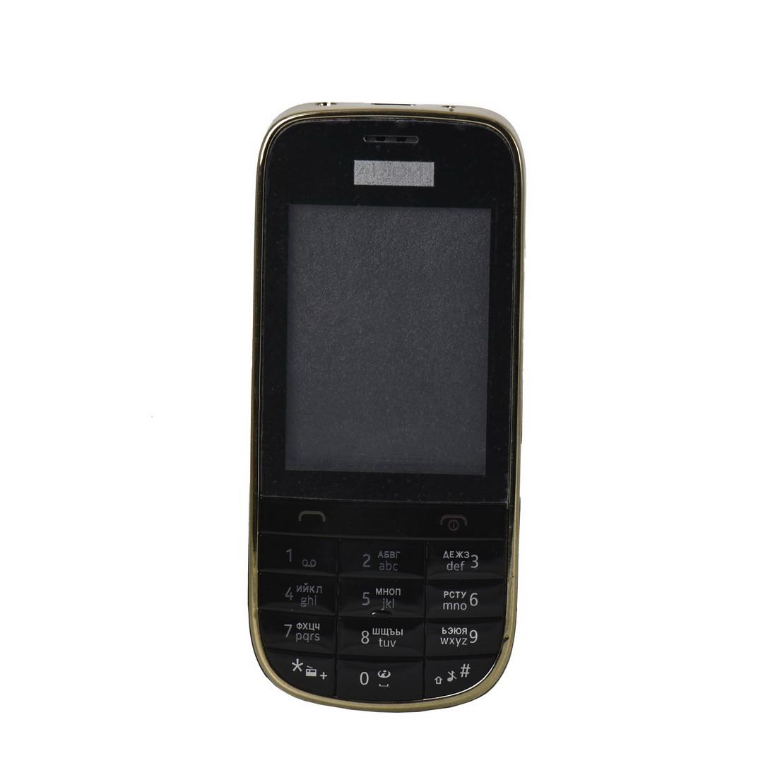 Корпус Nokia N202, Black (68)