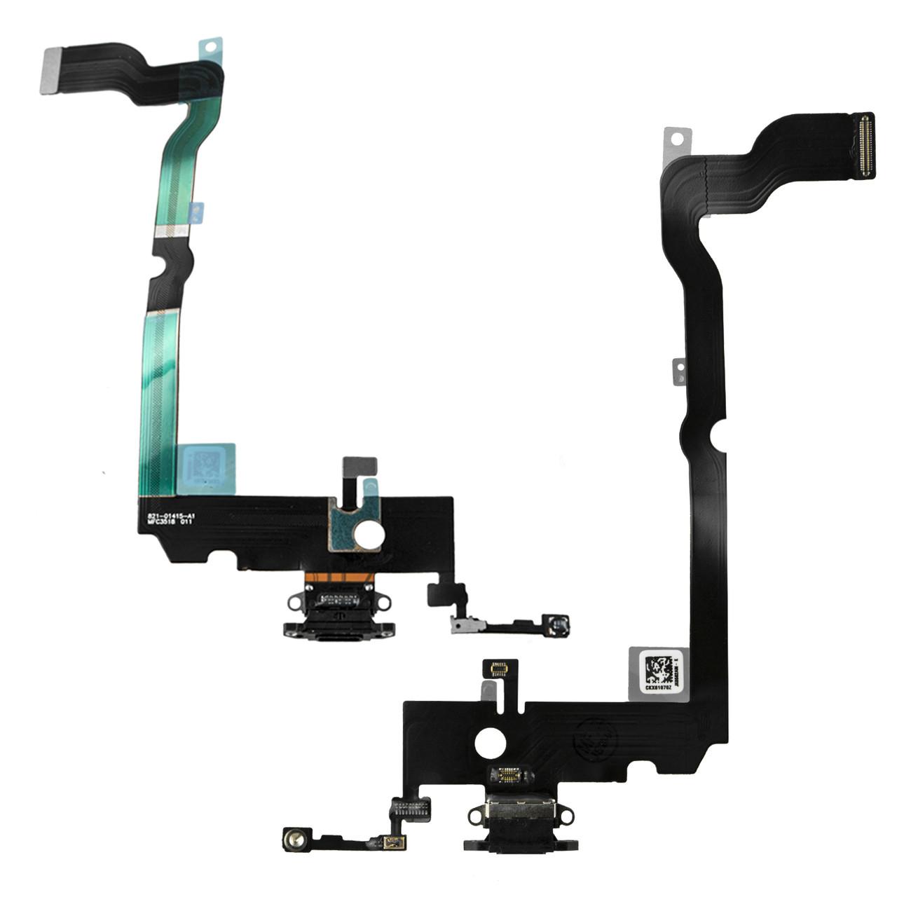 Шлейф Apple iPhone XS Max с коннектором заряда, Black