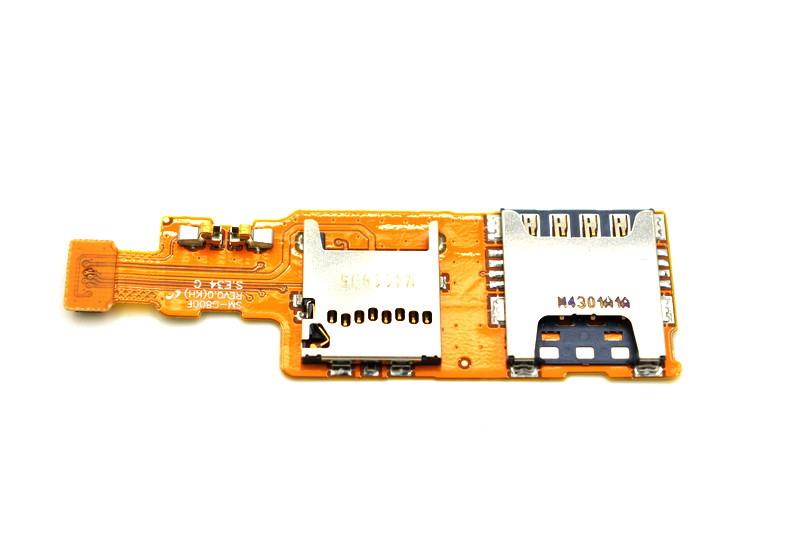 Шлейф Samsung Galaxy Alpha G850 на Sim и MMC (55)