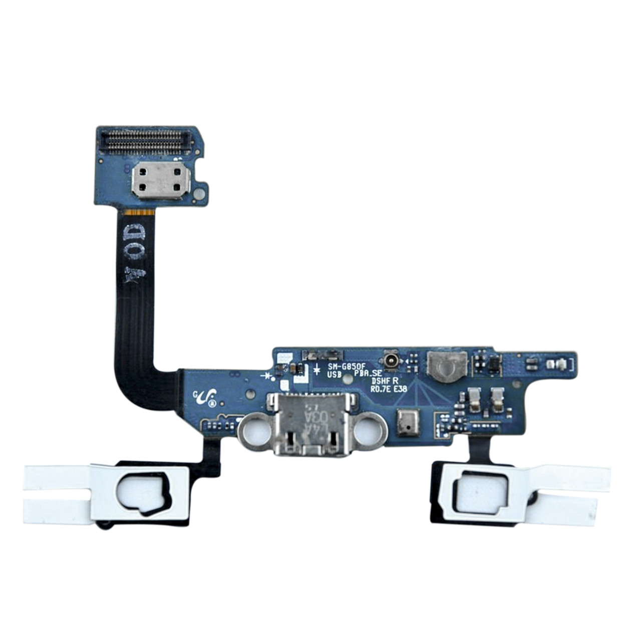 Шлейф Samsung Galaxy Alpha G850 с коннектором заряда и микрофоном (55)