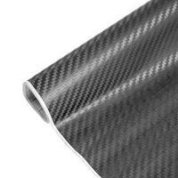 Пленка карбон 3D, самоклеящаяся, 60x127 см, серый