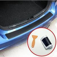 Пленка защитная на бампер авто, карбон, 104х9 см