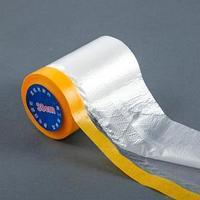 Защитная пленка с клейкой лентой для малярных работ, ширина 30 см, длина 20 м