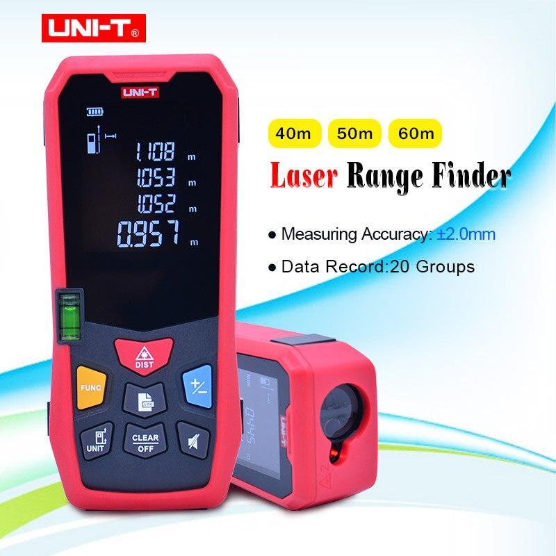 Дальномер с пузырьковым уровнем UNI-T LM40
