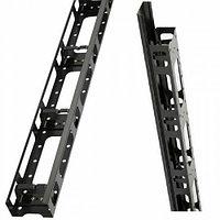 Estap Вертикальный кабельный органайзер пальцевого типа с металлической крышкой для CloudMax Ш=800 аксессуар