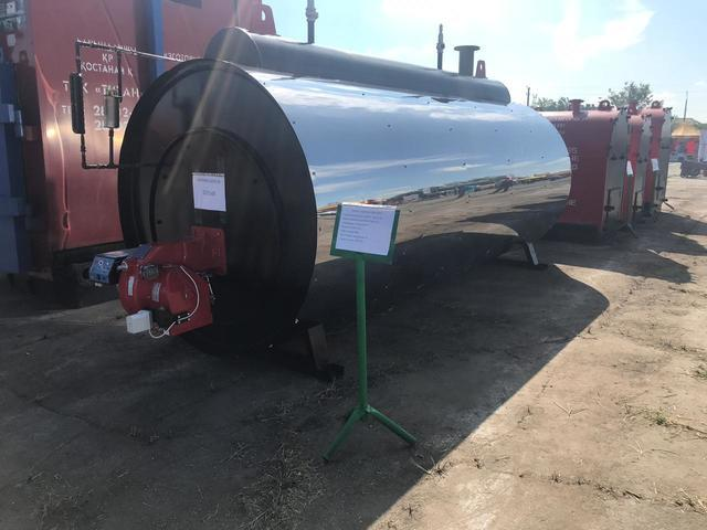 Паровой (парогенератор) газовый котел КВ-250 - фото 1