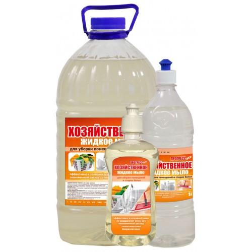 Жидкое мыло хозяйственное ,антибактериальное 5л