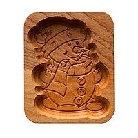 Форма для пряника (пряничная доска) Buken «Снеговик»